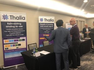 Thalia's booth at IPSoC 2019 Santa Clara